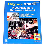 1983 Rochester Carburetors manual, Haynes techbook