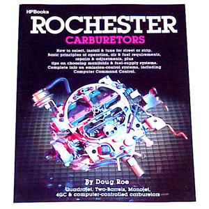 1953 Rochester Carburetors book, rebuilding and tune-ups