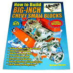1976 How To Build Big-Inch Chevy Small Blocks book, 7 complete builds for 383-454 cubic inch small block engines