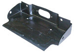 1967 License plate mounting bracket, rear