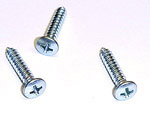 1978 Outside mirror arm screws, chrome