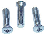 1958 Outside mirror arm screws, stainless