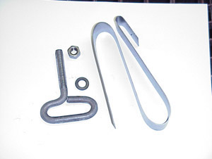 1942 Muffler hanger only, Chevrolet or GMC (included in complete systems)