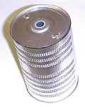 1949 Oil filter cartridge, 3-5/8 inch diameter