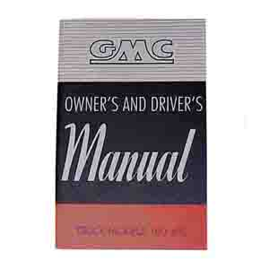 1949 Owners manual, GMC
