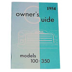 1954 Owners manual, GMC