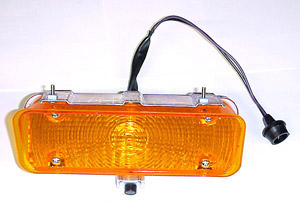 1971 Parklight/signal lamp assembly, left