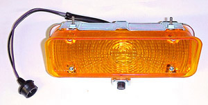 1971 Parklight/signal lamp assembly, right