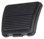 1968 Pedal pad for parking brake, ribbed design