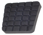 1972 Pedal pad for parking brake, waffle design