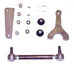 1955 Power steering conversion kit, includes brackets and mounting hardware for power steering box with instructions