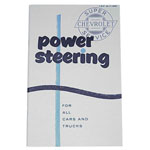 1963 Power Assist Steering Service Manual