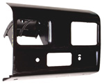 1962 Dash radio panel, black