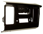 1965 Dash radio panel, black