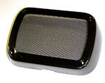 1963 Radio speaker grille cover, black