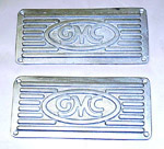 1954 Running board step plates, GMC