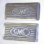 1947 Running board step plates, GMC