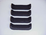 1967 Radiator mounting pads, with air or heavy duty radiator