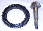 1968 Ring and pinion gear set, ratio 3.54:1