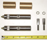 1957 Leaf spring bushings and pins, front or rear of rear leaf spring