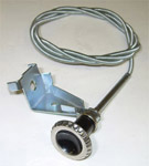 1961 Side cowl vent control cable, right