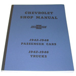 1944 Shop manual book, Chevrolet