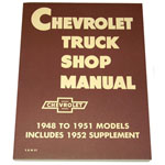 1949 Shop manual book, Chevrolet