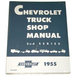 1956 Shop manual book, Chevrolet