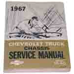 1967 Chassis service manual book, series 10-60