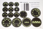 1956 Gauge decals, GMC