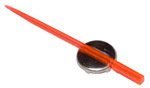 1947 Speedometer needle, red/orange