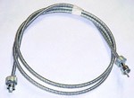 1936 (Early) Speedometer cable, metal housing