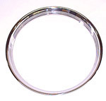 1972 Trim wheel rings for 15 inch wheels, stainless steel