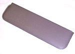 1963 Inside sunvisor pad, dark gray
