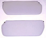 1980 Inside sunvisor pads, light gray