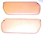 1973 Inside sunvisor pads, saddle