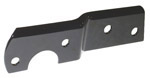 1962 Taillight bracket, black