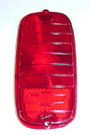 1960 Taillight lens, red