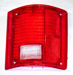 1983 Taillight lens, red