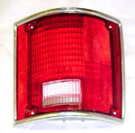 1973 Taillight lens, red