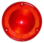 1975 Taillight lens, red