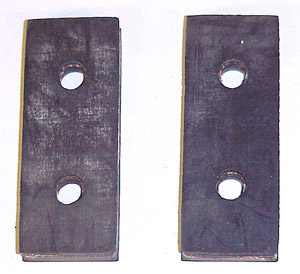 1953 Transmission mount pads, 3 speed