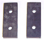1952 Transmission mount pads, 3 speed