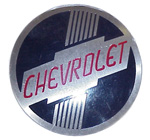 1950 Factory heater identification plate, Chevrolet