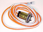 1954 Double socket replacement to convert your parklights for turn signal bulbs, includes bulb and pigtail