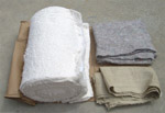 1947 Seat padding kit, includes cotton