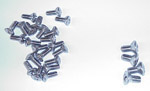 1955 (2nd Series) Door panel fastening screws, stainless steel