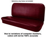 1954 Upholstery (only) for bench seat, Madrid grain vinyl
