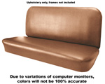 1955 Upholstery (only) for bench seat, Madrid grain vinyl