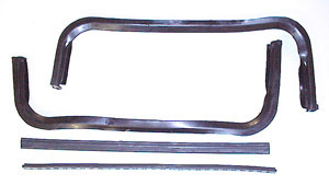 1960 Front wing vent rubber weather strip, does both doors